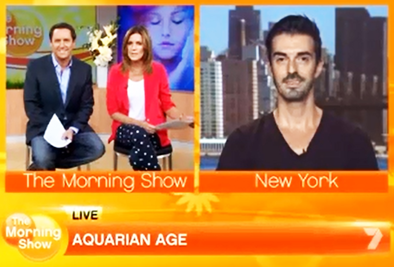 The Morning Show – Aquarian Age – 22/01/2014