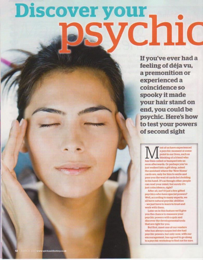 Spirit and Destiny Australia – 01/03/2013