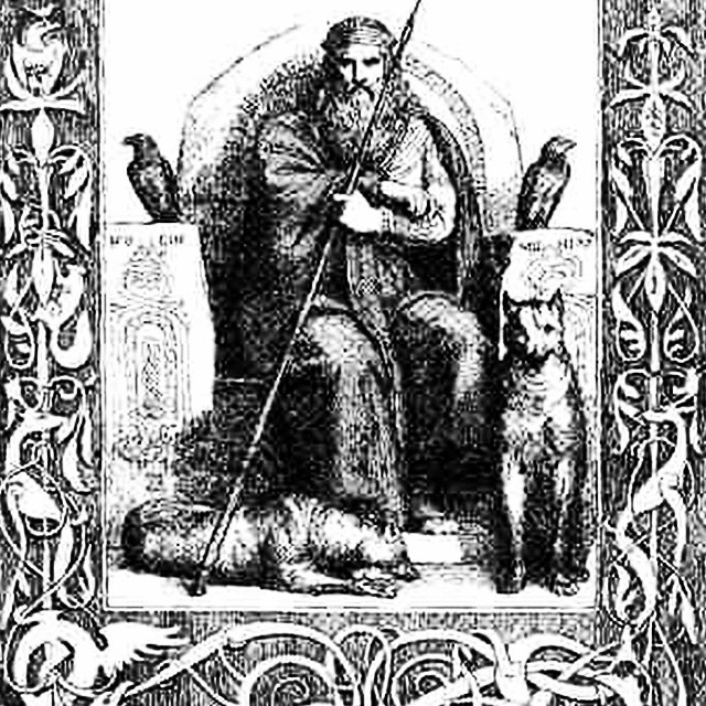 Odin, the Allfather in Norse mythology can be called on to help refine your father energy and archetype #godoftheday #god #goddesses #goddess #esoteric #tarot #tarotoftheday #wicca #witchcraft #norse #viking #spirit #spiritual #spirituality #father #money #toddsavvas