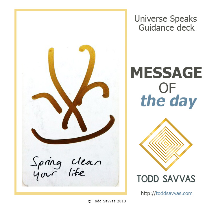 MOTD – Spring Clean Your Life 25/06/2015