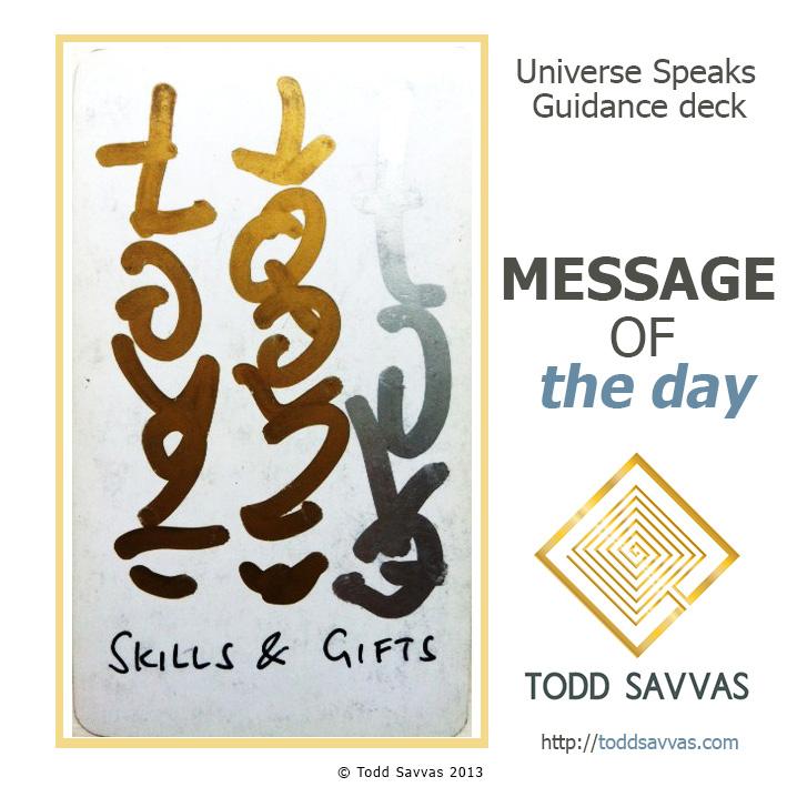 MOTD – Skills & Gifts 29/11/2014