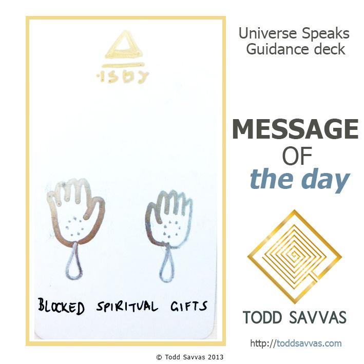 MOTD – Blocked Spiritual Gifts 15/05/2015