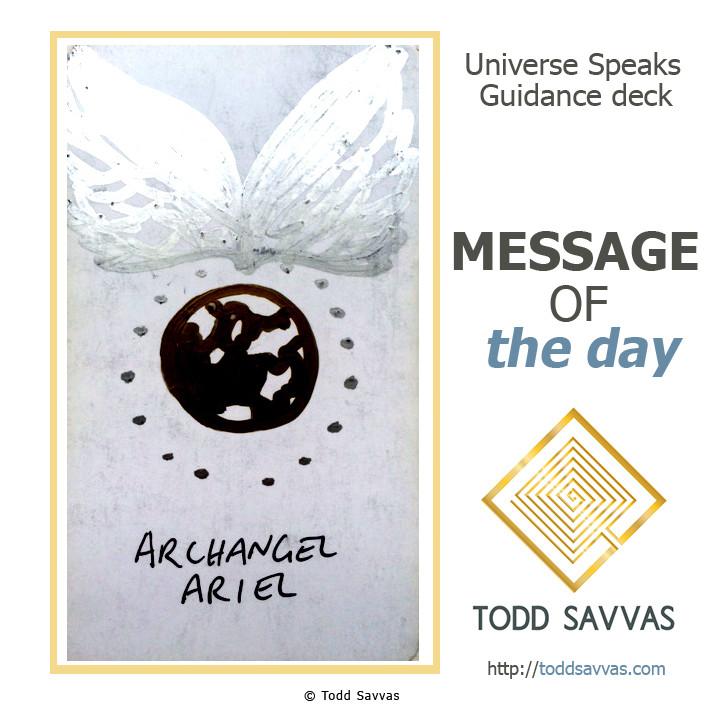 MOTD – Archangel Ariel 29/04/2015